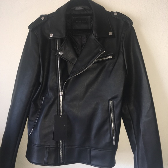 c252462c Zara Jackets & Coats | Mens Leather Jacket | Poshmark